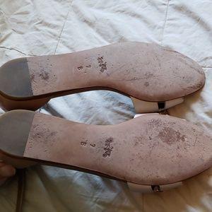 Coach Shoes - Coach Ivory Tan Seabreeze Sandal